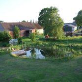 Fertiger Teich in Dossow